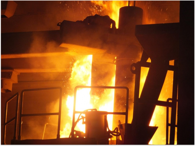 Electric Arc Furnace Inteco Melting And Casting